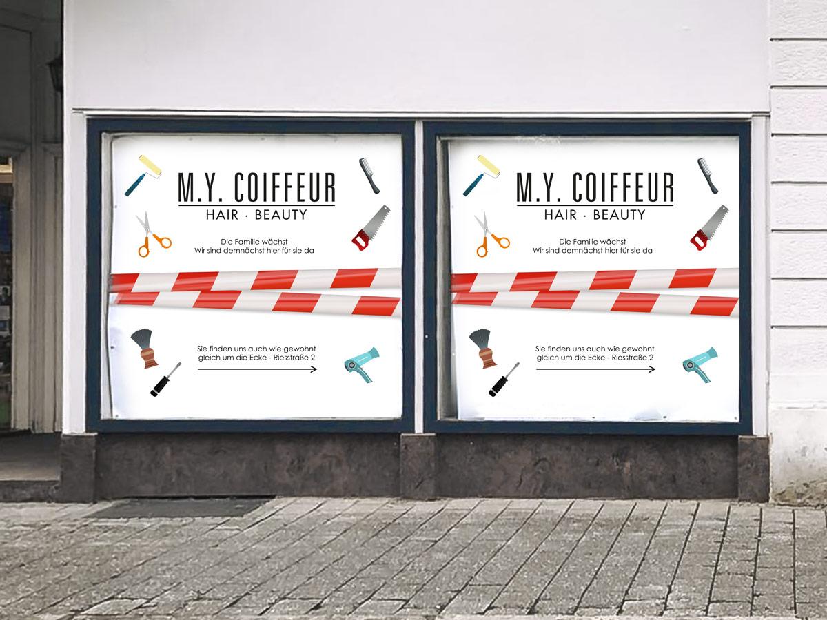 M Y Coiffeur Webdesign Grafik Kommunikation Lorrach
