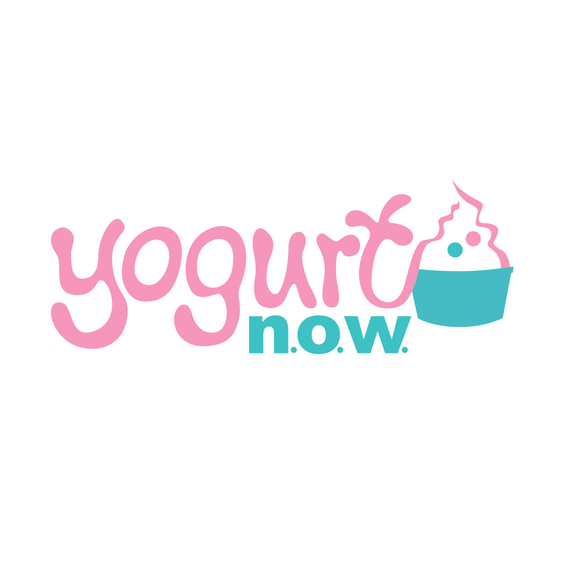yogurt n.o.w. Logo